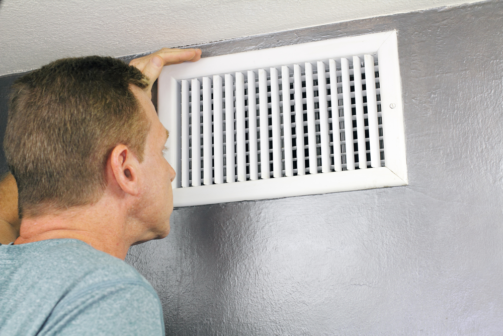 keep air vents clean
