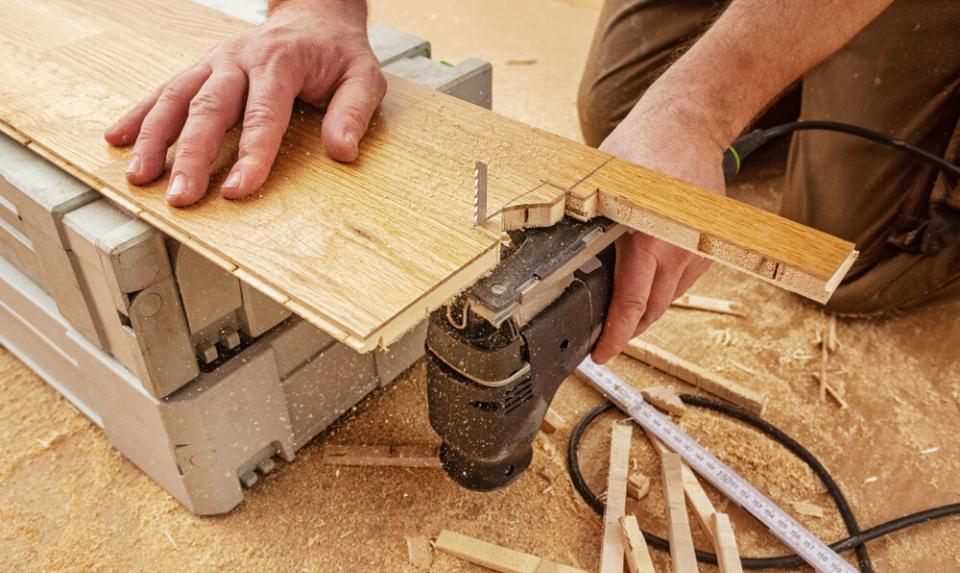 installing an engineered oak flooring